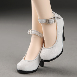 [58mm] MSD (high heels) Shoes - Basic Shoes (White)