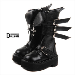[75mm] MSD - Storm Cross Boots (Black)[C1]