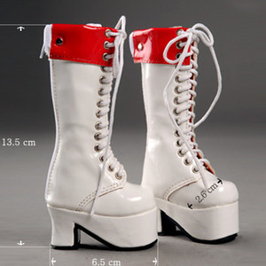 [65mm] MSD - Platform Ruby Boots (White)[C1]