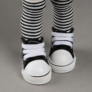 [50mm] USD.Dear Doll Size - Cuteme Sneakers (Black) [K8]