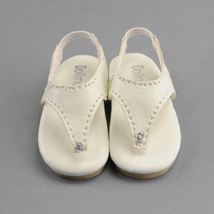 [60mm] MSD - KKM Flip Flop Shoes (Ivory)
