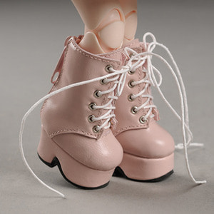 [40mm] USD.Dear Doll Size - Platform Basic Boots (Pink)