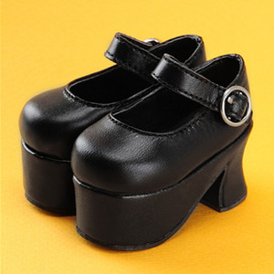 [65mm] MSD- Platform Basic Girl Shoes (Black)