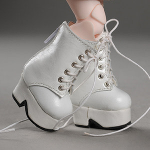 [40mm] USD.Dear Doll Size - Platform Basic Boots (White)