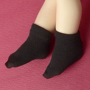 [USD] Dear Doll Size - Smart Ankle Socks (Black)
