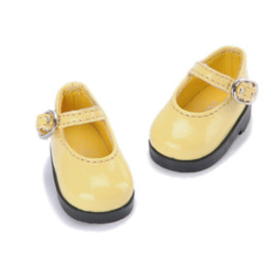 [50mm] USD.Dear Doll Size - Basic Girl Shoes (Yellow Enamel) [K8]