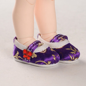 [45mm] USD.Dear Doll Size - Oriental Band Shoes (Violet)