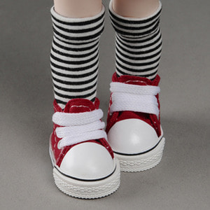 [50mm] USD.Dear Doll Size - Cuteme Sneakers (Red) [K8]