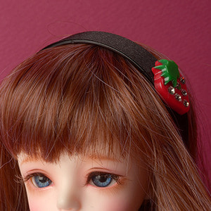 MSD & SD - Red Berry Hairband (422)