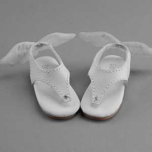 [60mm] MSD - KKM Flip Flop Wing Shoes (White)