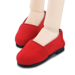 [75mm] MSD - Ruth Flat Shoes (M Red)[C1]