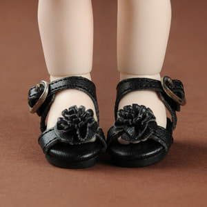 [40mm] USD.Dear Doll Size - Mash Marigold Sandal (Black)