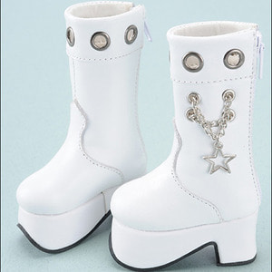[70mm] MSD - Star Chain Boots (White)