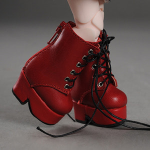[40mm] USD.Dear Doll Size - Platform Basic Boots (Red)