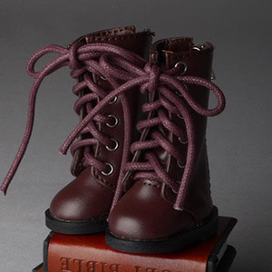 [52mm] USD.Dear Doll Size - Basic SL Boots - Long type (D.Brown)