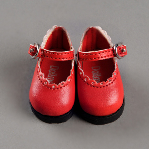 [50mm] USD.Dear Doll Size - Lolo Cut Shoes (Red) [K8]