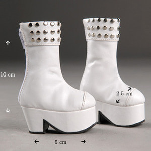 [60mm] MSD - JJ Jing Boots (White)