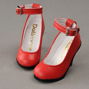 [58mm] MSD (high heels) Shoes - Basic Shoes (Red)