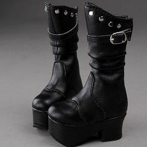 [68mm] MSD - Facia Boots (Black)