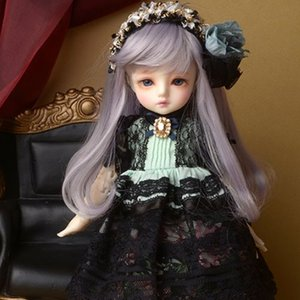 [USD] Dear Doll Size - Namee Dress (M.Black)