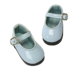 [48mm] USD.Dear Doll Size - Basic Girl Shoes (Sky Enamel) [K8]