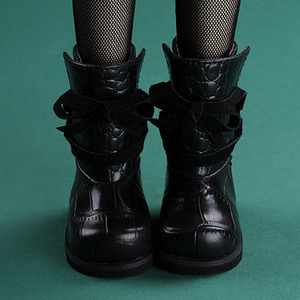 [65mm] MSD - Paver Ribbon Boots (Black)