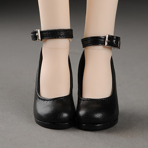 [58mm] MSD (high heels) Shoes - Basic Shoes (Black)