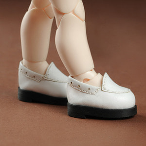 [45mm] USD.Dear Doll Size - Comcom loafer (White)