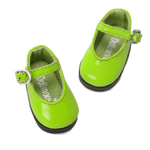 [48mm] USD.Dear Doll Size - Basic Girl Shoes (Green Enamel) [K8]