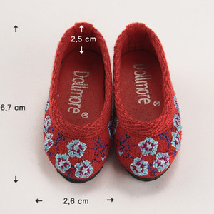 [67mm] MSD - Iring Shoes (Red)[C1]