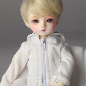 [USD] Dear Doll Size - Laurel Jumper (White)