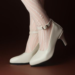[140mm] Trinity Doll - RM High Heel Shoes (Enamel Cream)