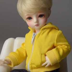[USD] Dear Doll Size - Laurel Jumper (Yellow)