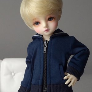 [USD] Dear Doll Size - Laurel Jumper (Navy)