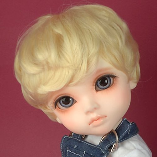 "[13-14""] Zeke Short Cut Wig (Blond)"