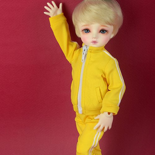 [USD] Dear Doll Size - Felix Jersey Set (Yellow)