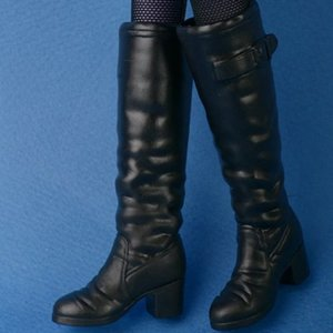[37mm] 12inch WWK Long Boots (Black)