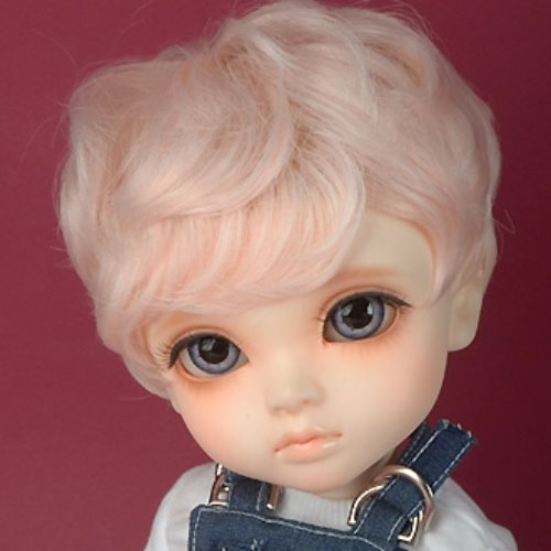 "[13-14""] Zeke Short Cut Wig (L.Pink)"
