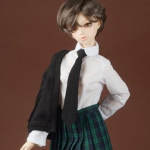 [SD] Petit School Uniform For Girl Set (Black & Green)