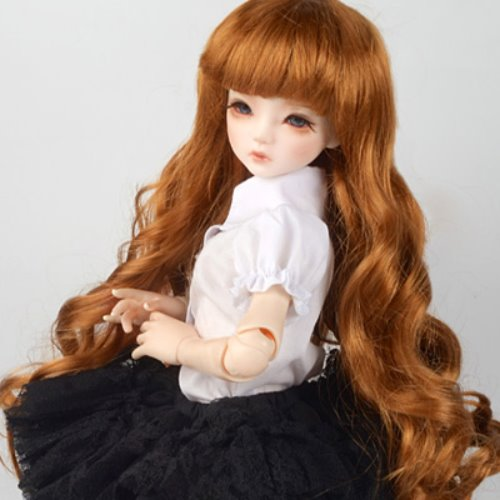 "[7-8""] Melrose Long Bang Wig (Carrot)"