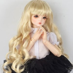 "[7-8""] Melrose Long Bang Wig (Blonde)"