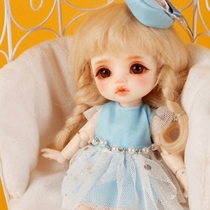 [Bebe Doll.휴쥬베이비] - (선주문) Cinderella Dress Set (Blue)