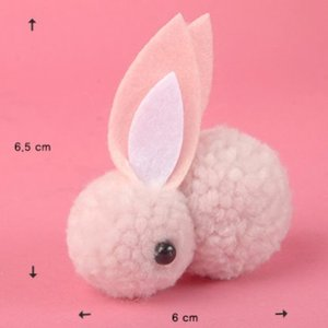 For Doll -Tiny Rabbit (Pink)