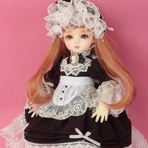 [USD] Dear Doll Size - Vanessa Dress Set (Black)