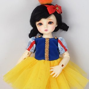 [USD] (선주문) Dear Doll Size - Snow White Dress Set (Yellow)