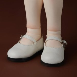[90mm] Illua Doll Shoes - Basic Girl Shoes (White)