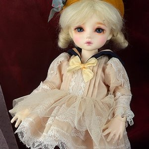 [USD] Dear Doll Size - Serasera Dress Set (Navy+Cream)