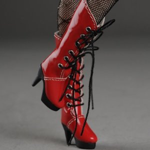 "[30mm] 12"" Shilla Boots (Red)"