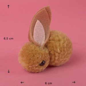 For Doll -Tiny Rabbit (Brown)