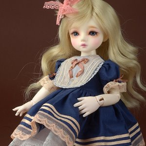 [USD] Dear Doll Size - UD-85 Dress (Navy)